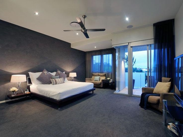 Bedroom Ideas - Bedroom Photos & Designs | Balconies, Dark Carpet