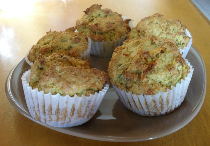 Veggie Pulp Muffins (what you can do with vegetable pulp after juicing)  - 2 cups of vegetable pulp  - 3/4 cup extra virgin olive oil  - 3 eggs  - 1 cup pure maple syrup  - 3 cups whole grain flour  - 1 tbsp baking soda  - 1 tsp cinnamon    Mix all of the wet ingredients together and all of the dry ingredients together. Add together and mix thoroughly. Scoop mix into muffin tray and bake at 350 degrees for 40-45 minutes.: Olives Oil, Olive Oils, Baking Soda