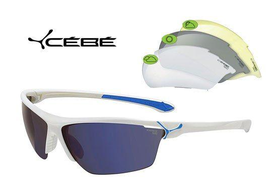 Gafas de sol deportivas Cebé Cinetic cristales intercambiables 27€