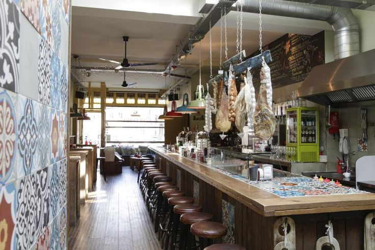 Cement tiles - Project Boulevard Cerveceria - Cafe