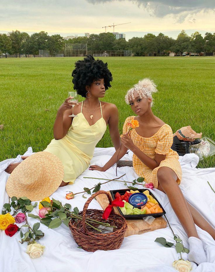 suban on Twitter | Picnic outfits, Black girl aesthetic, Photoshoot