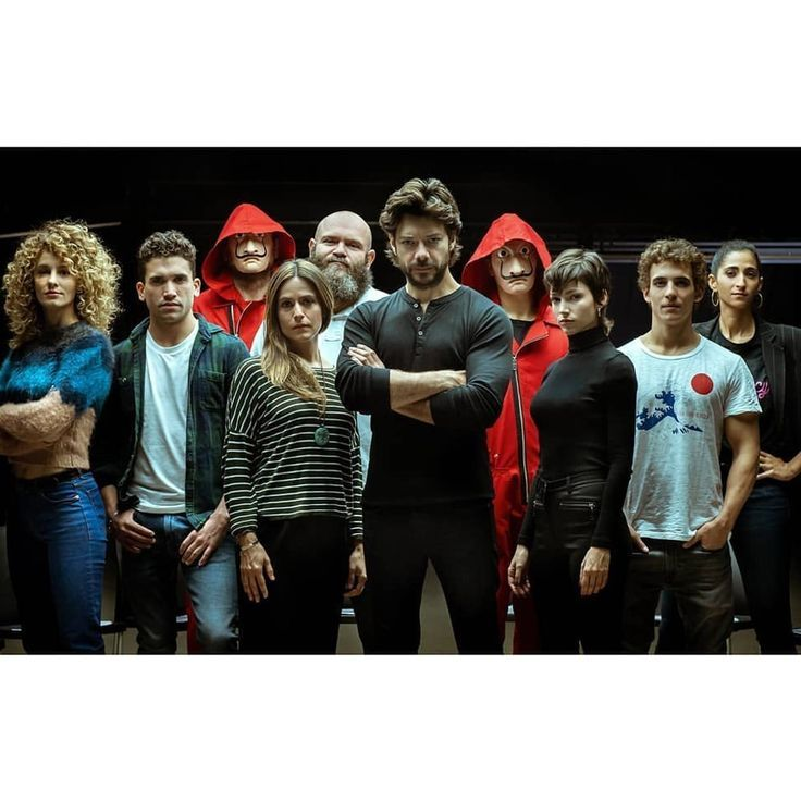 New Pictures Of The Characters From La Casa De Papel Show The