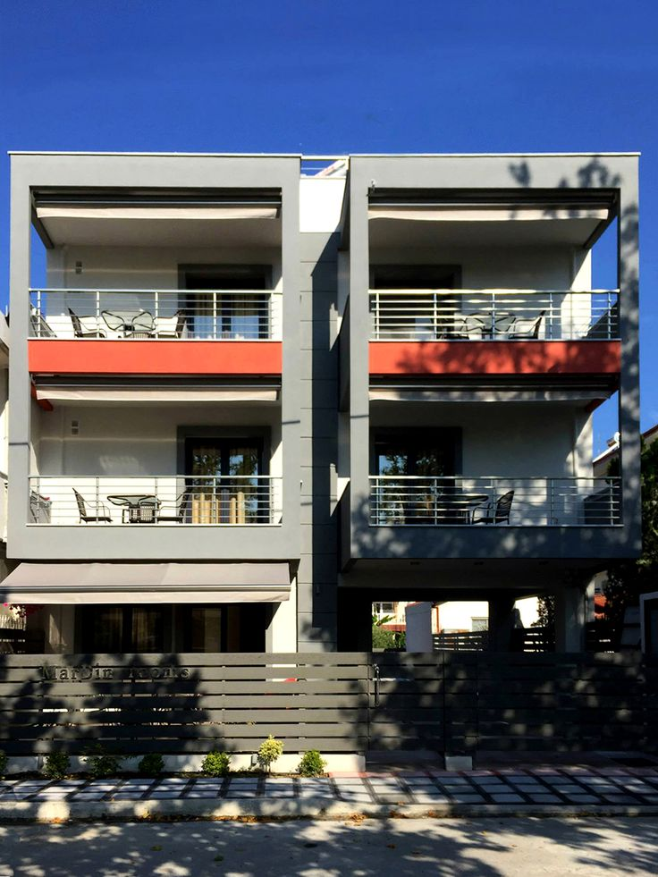 Two storey apartment building