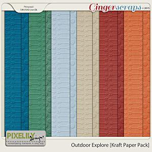 Outdoor Explore [Kraft Paper Pack]