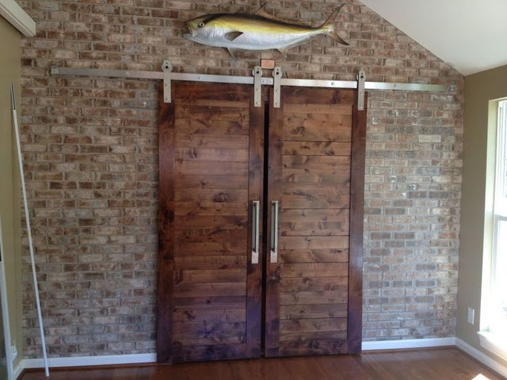 ultra modern barn door hardware by parting doorswith a little fish