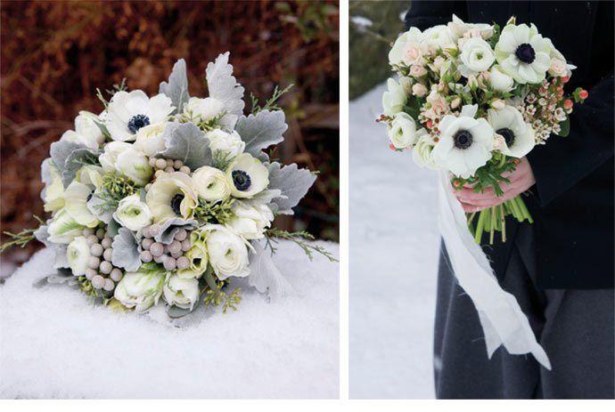 les 25 meilleures id es de la cat gorie bouquet d 39 hiver sur pinterest fleurs de mariage d. Black Bedroom Furniture Sets. Home Design Ideas