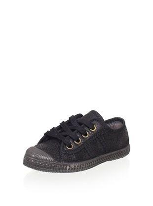 55% OFF Cienta Kid's Sneaker (Black)