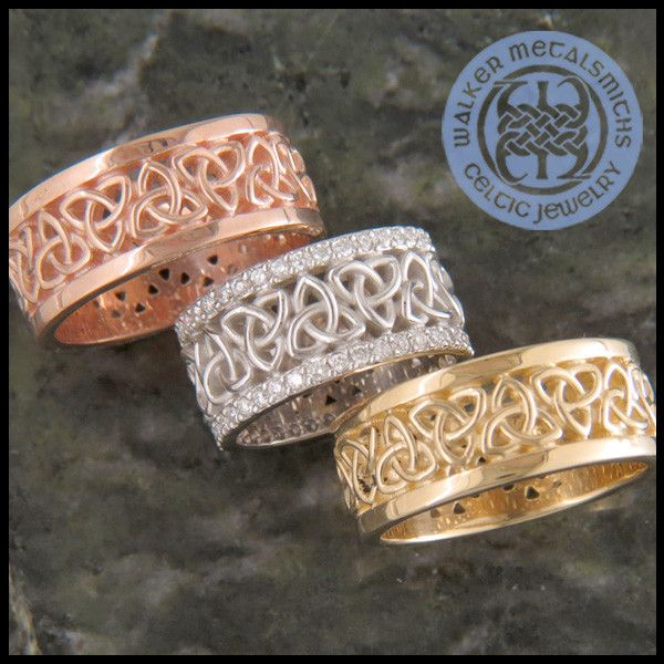 41 best Gold Celtic Rings images on Pinterest Celtic rings Celtic