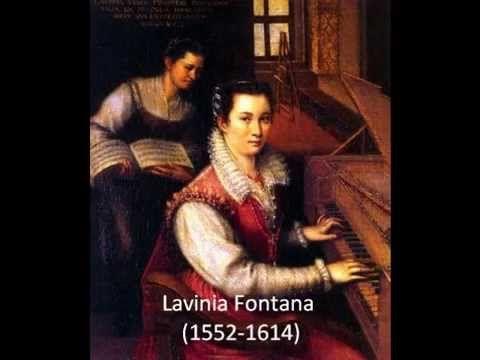 Mujeres pintoras nacidas en el Siglo XVI - YouTube