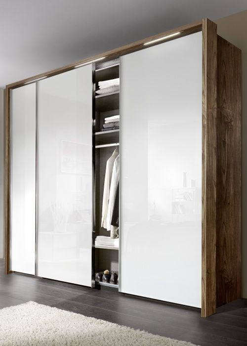 Nolte Evena Wood Doors Sliding Wardrobe #Slidingwardrobe