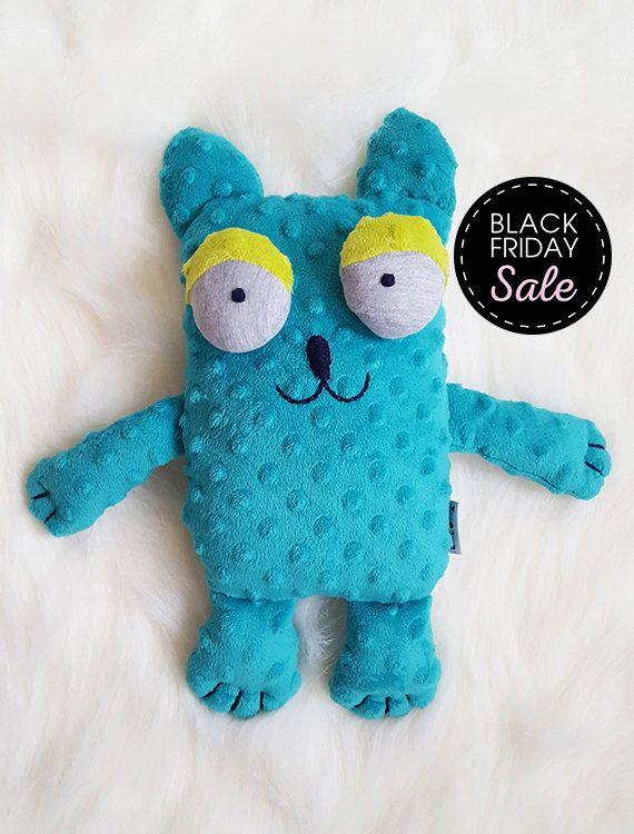 Black Friday Sale 20% off Cat - Stuffed animals & plushies, christmas and birthday gift, by KAKUMA, by KAKUMAstore on Etsy