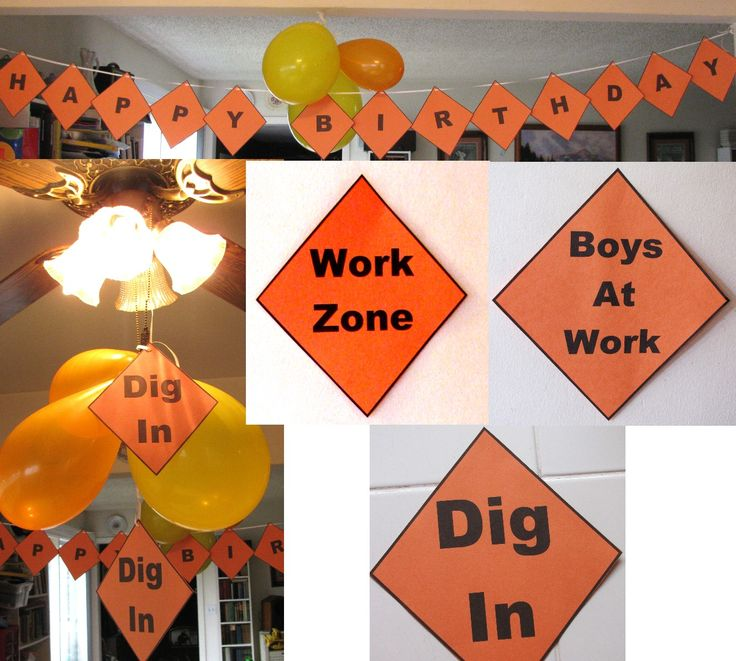 Free Construction Printables - Great for Oneight Under Construction session