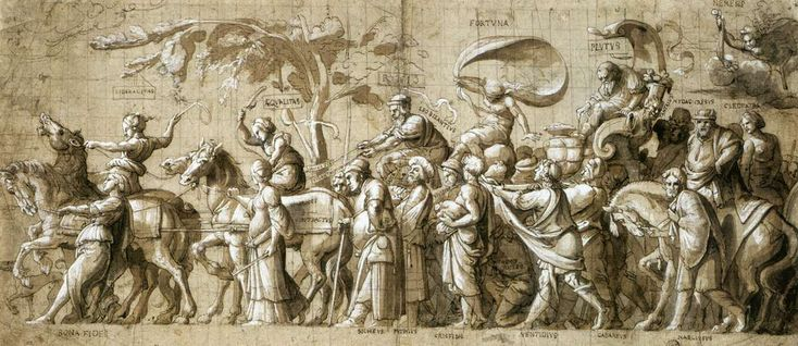 Triumph of Wealth — Hans Holbein the Younger (c.1533)