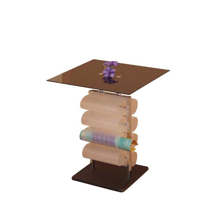 Design Beistelltisch Mit Zeitungsablage Schwarzglas Jetzt Bestellen Unter Moebelladendirektde Wohnzimmer Tische Beistelltische Uid69455c34 28e9