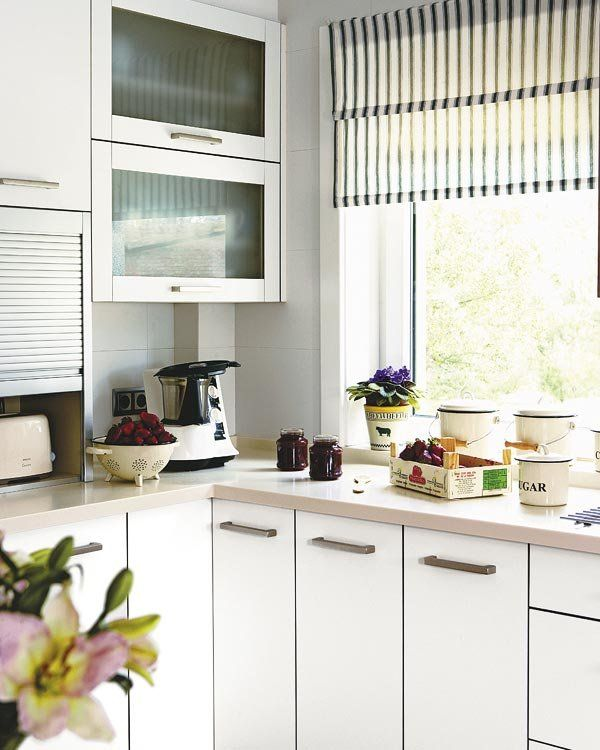 17 mejores ideas sobre estores para cocina en pinterest - Ver cortinas para cocina ...