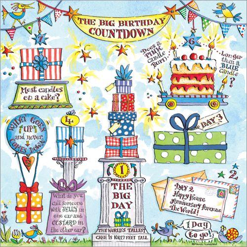 The Big Birthday Countdown