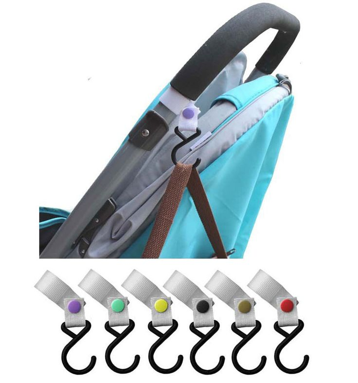 Baby Stroller Hooks For Bag Accessories Baby Stroller Pram Pushchair Hook Hanger Hanging Stroller Hook Carrinho De Gancho