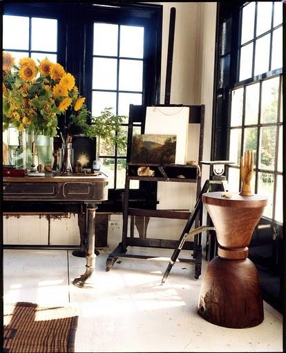create a dwelling- black trim paint