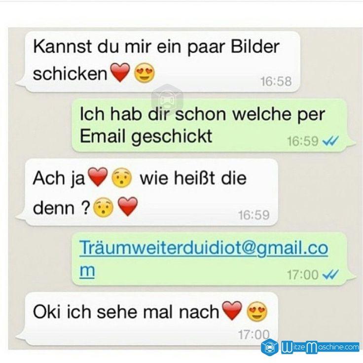 Lustige WhatsApp Bilder und Chat Fails 66 - Träum weiter du Idiot