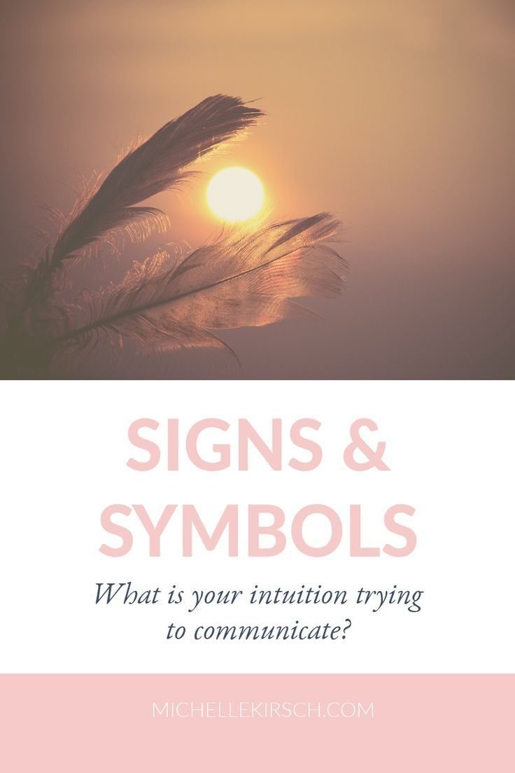 Signs, Symbols & Synchronicity: What is your intuition