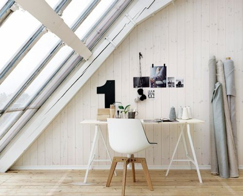 Workspace inspiration (though I'll never have a window like that!  :-P)