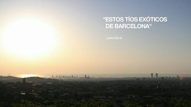Estos tíos exóticos de Barcelona: Un documental sobre la situació actual del disseny a la ciutat de Barcelona. Es tracta d'un projecte final de carrera amb el qual he procurat indagar i tractar temes d'actualitat. Es pot considerar una primera versió d'un projecte de futur.