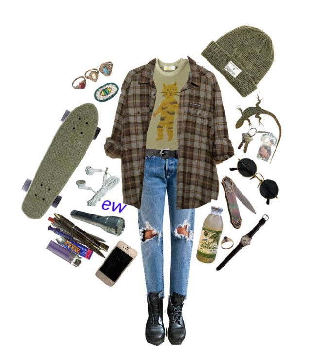 """""""Indians on ice cream cones"""" by lordeisqueenbee ❤ liked on Polyvore featuring Dr. Martens, Humör, ASOS and Dark Seas"""