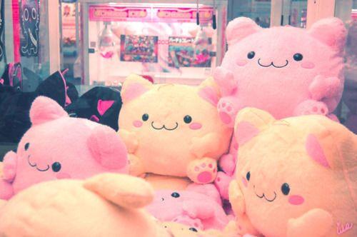 Kawaii-Plushies-Pink-Toys