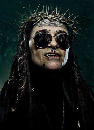 AL JOURGENSEN of MINISTRY Check out UNCLE AL's MINISTRY MONDAYS on Facebook , Twitter