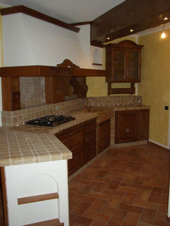 Cucina in muratura - ARTE STILE LIA