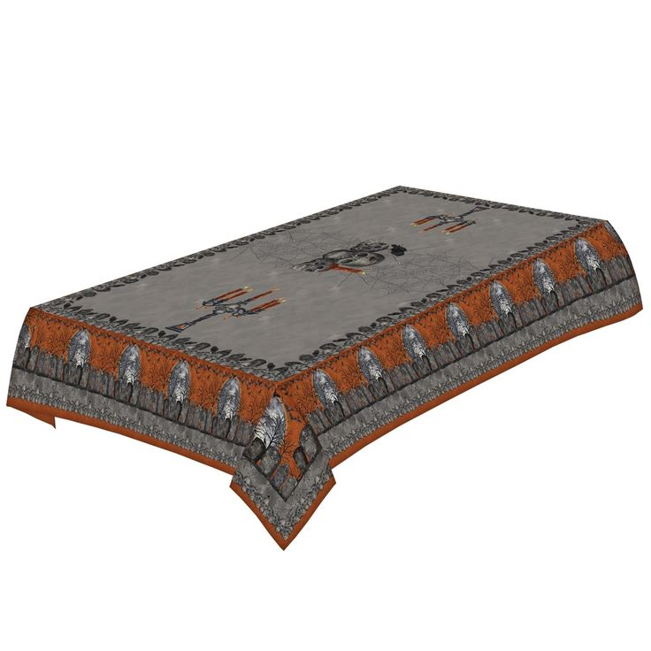 Laural Home Wicked Halloween Tablecloth
