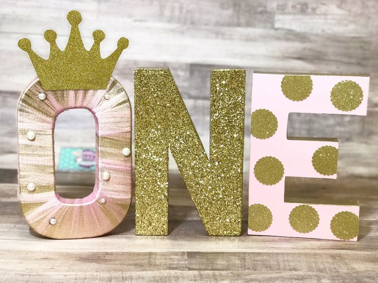 PRINCESS LETTERS - GOLD ONE LETTERS - PINK ONE LETTERS - POLKA DOT LETTERS - PRINCESS PARTY PROP - PRINCESS SMASH CAKE PROP - FIRST BIRTHDAY #babyshowerideas4u #birthdayparty #babyshowerdecorations #bridalshower #bridalshowerideas #babyshowergames #bridalshowergame #bridalshowerfavors #bridalshowercakes #babyshowerfavors #babyshowercakes