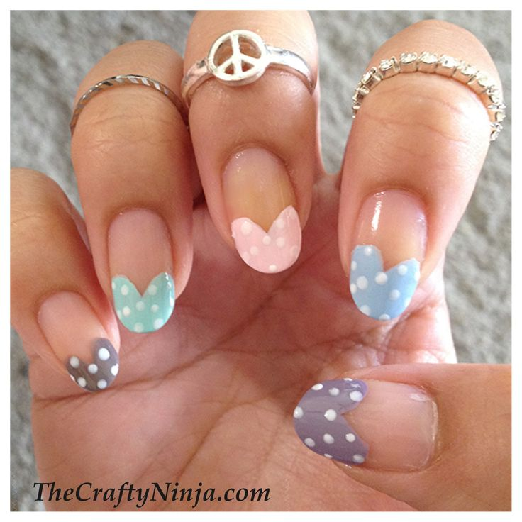 9 Best Heart Nail Art Designs With Images: Best 25+ Heart Tip Nails Ideas On Pinterest