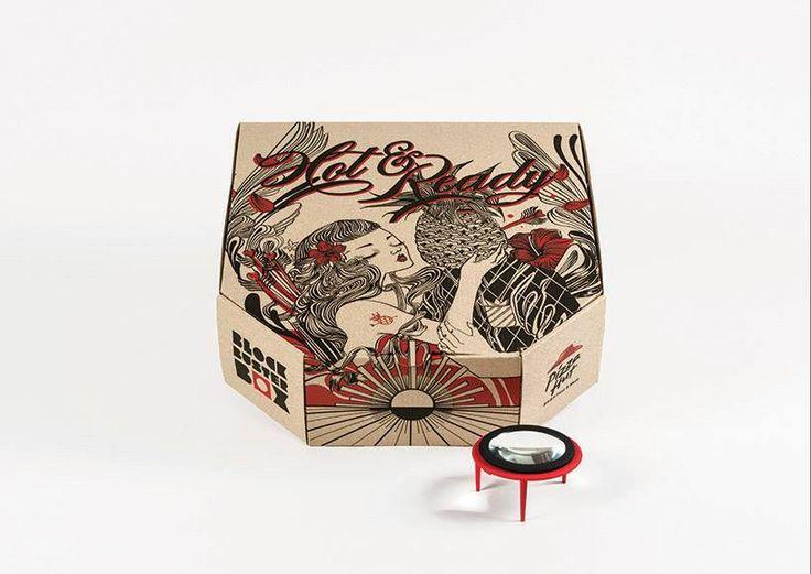 Ogilvy & Mather совместно с Pizza Hut в Гонконге запустили инновационную упаковку для пиццы. Эта упаковка для тех, кто любит пиццу и фильмы. Тестовые коробки со встроенными проекторами для просмотра фильмов были выпущены в апреле этого года. Сразу же став популярными, они с лихвой окупили вложенные средства.