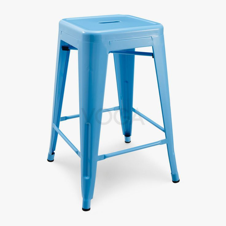 Tolix Bar Stool in stainless steal