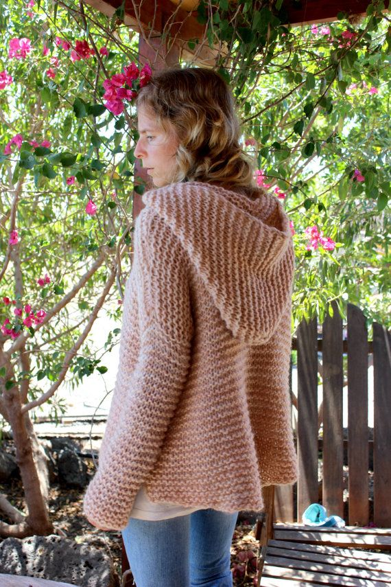 Oversized Hood Knitting Pattern : 17 Best images about knit sweaters on Pinterest Sweater ...