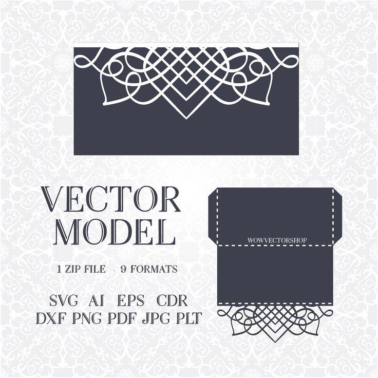 Best Laser Cut Wedding Invitation Template Images On Pinterest - Laser cut wedding invitation templates
