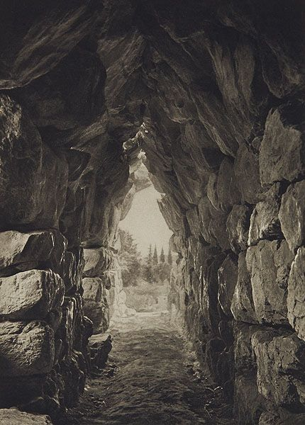 Vaulted Chamber at Tiryns, (greece) Fred Boissonnais, 1920