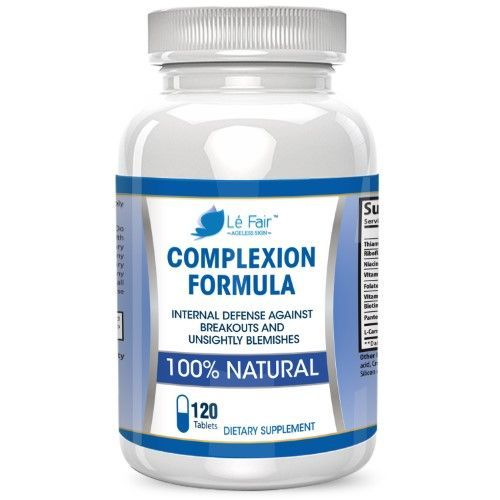 Acne Pills with Pantothenic Acid and Vitamin B5 - Le Fair Complexion Formula - Natural Acne & Blackhead Supplement for Back Acne Hormonal Acne Cystic Acne & Adult Acne - Safe For Teenagers & Adults http://www.wartalooza.com/treatments/compound-w-wart-remo
