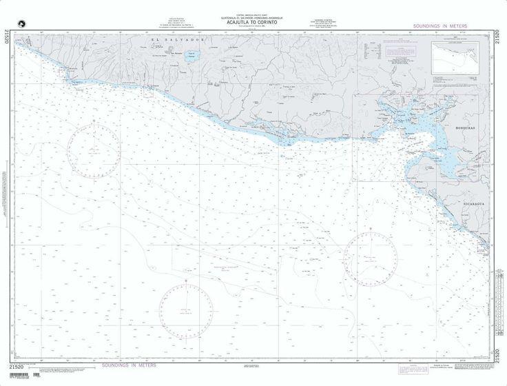 Acajutla To Corinto (NGA-21520-1) by National Geospatial-Intelligence Agency