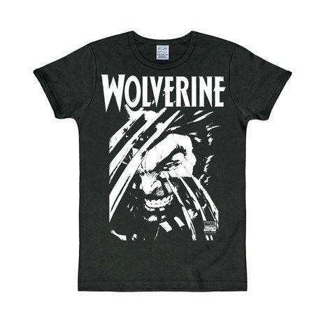 Marvel Wolverine T-Shirt Slim Fit schwarz. Aus der Kategorie Logoshirt Kultmarken & Comic Shirts. Zeigen sie Ihre Krallen mit diesem sensationellen Marvel Wolverine T-Shirt in klassischem Schwarz und Weiß. Ein echtes Muss für Marvel Fans!