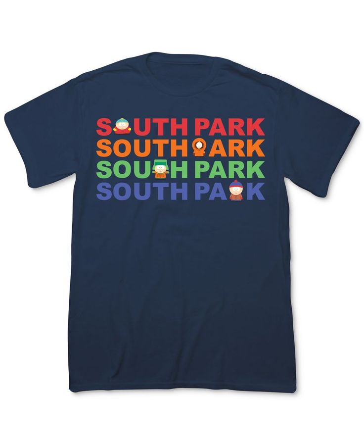 Fifth Sun Text Title Text South Park T-Shirt