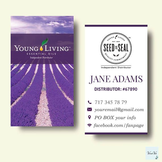 Best 25+ Young living business cards ideas on Pinterest | Recipe ...