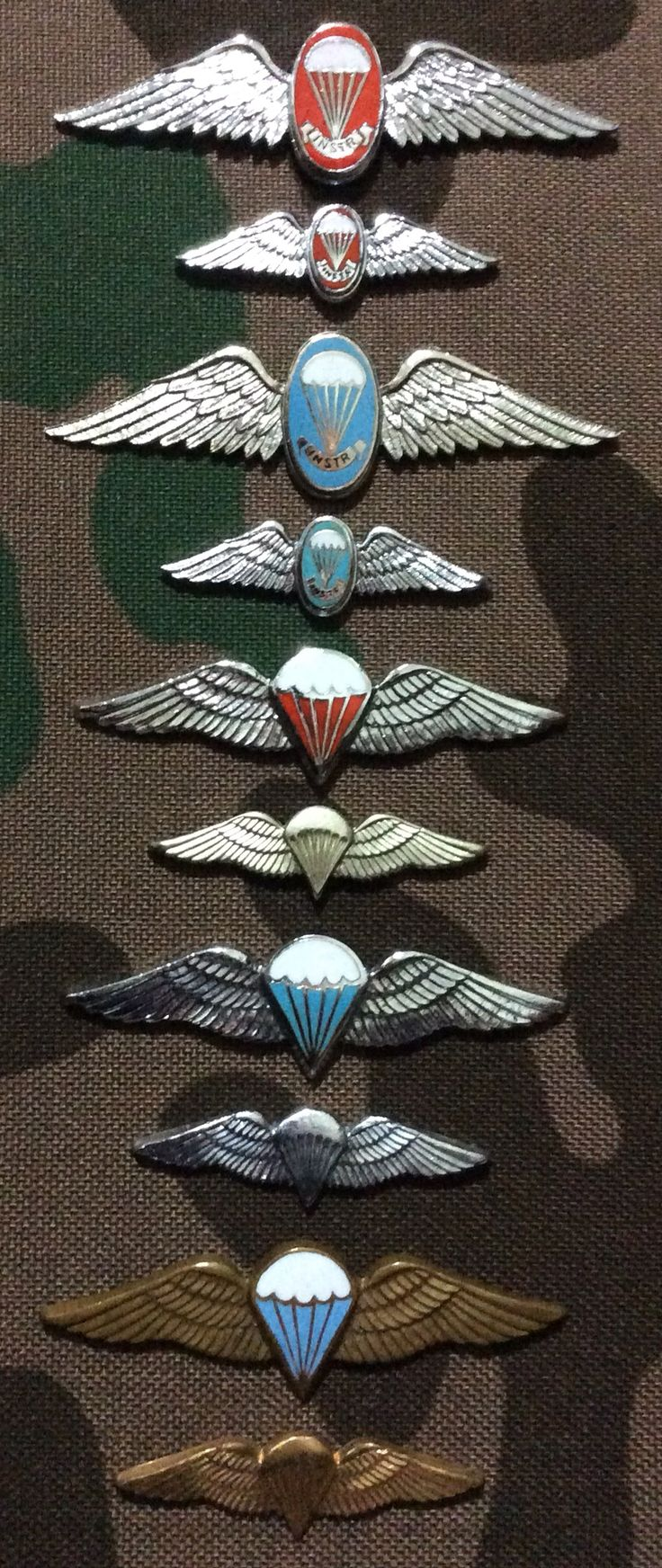 South African paratrooper wings