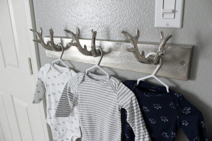 Project Nursery - Antler Wall Hook