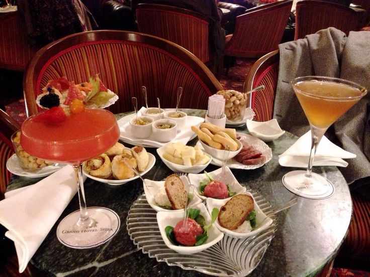Italian Aperitif by Barman Beppe Loi www.grandhotelsitea.it #travel #luxury #breakfast #meeting #business
