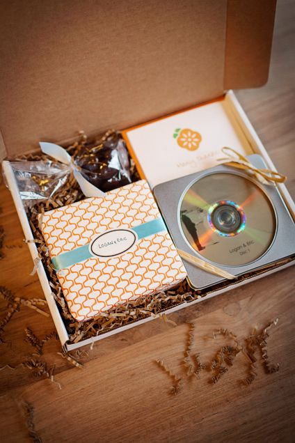 Curv can make custom boxes. Several of our clients take advantage of this for their holiday gifts. We can also print your logo or any design on the outside of the box in full color. Here is a sample from Persimmon Images, who uses it for their wedding packages.