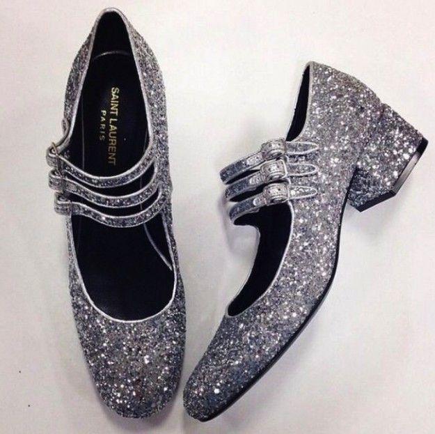 Scarpe con glitter Autunno Inverno 2014-2015