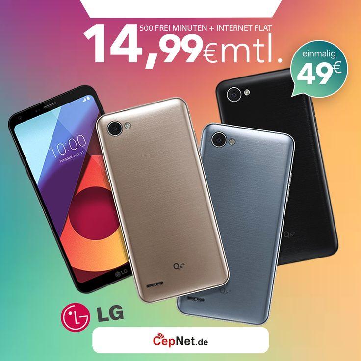 🔥🔥🔥 LG Q6 M700N 32GB mit günstigem ay yildiz Ay Allnet Vertrag  👉👉  https://www.cepnet.de/smartphones/lg/q6-m700n/?utm_source=cepnet_sosyal&utm_medium=sosyal&utm_campaign=LG_q6&bid=faa    ✅500 Freiminuten* in alle deutschen Netze und ins türkische Festnetz  ✅Internet Flat 1GB* mit bis zu 21,6 Mbit/s (danach Drosselung auf 56 kbit/s)  ✅12 Cent/Minute in alle türkischen Mobilfunknetze  ✅EU Roaming* Inklusive    ➤Gerätepreis einmalig nur:49,99€ */**  ➤Tarif monatlich nur:14,99€…