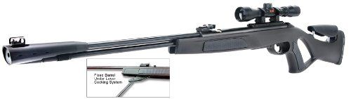 Gamo Whisper CFR Air Rifle with 3-9 X 40 AO Rifle Scope and SAT 2-stage adjustable trigger - http://www.airrifleforsale.com/air-rifles/gamo-whisper-cfr-air-rifle-with-3-9-x-40-ao-rifle-scope-and-sat-2-stage-adjustable-trigger-2/ - The CFR is the first Whisper Air Rifle with a fixed barrel. The integrated ND52 noise dampener system and the fixed rifled steel barrel will ensure long lasting accuracy. Capable of 1100 FPS with PBA Platinum Ammo which turns this rifle into the ult
